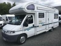 Peugeot BOXER 6 berth autostratus with air conditioning