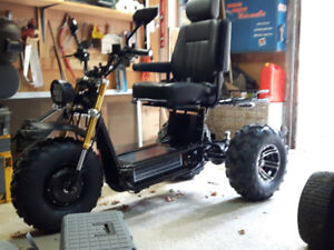 For Sale:  DAYMAK on/off road Mobility Scooter