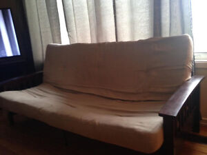 Futon - REDUCED PRICE - MUST GO - NO ROOM