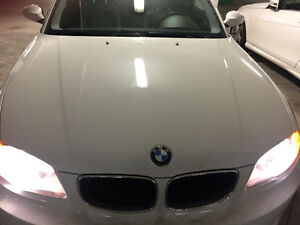 2009 BMW 1-Series 128i Coupe (2 door) Alpine White