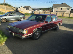 Antique Car 1988 Cadillac DeVille