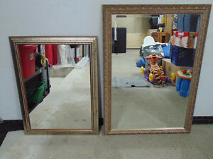 High Quality Decorative Mirrors x2