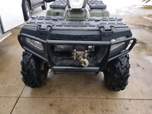 2008 Sportsman 500cc 4x4 with winch and ownership