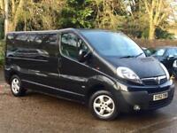 2013 Vauxhall Vivaro 2.0CDTi ( 115ps ) ( EU V ) Sportive 2900 LWB Black NO VAT!!