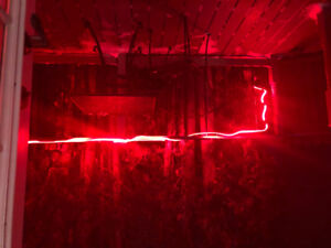 Red Rope Christmas Outdoor Lights