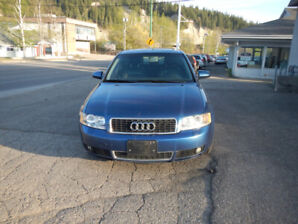 2004 Audi A4 1.8T Sedan  $2990 This Monday Only