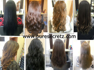 HAIR EXTENSIONS*HALF PRICE OF GL & OURS WILL LAST OVER 1 YEAR London Ontario image 4