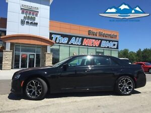 2016 Chrysler 300 S  ACCIDENT FREE, DEALER INSPECTED, LEATHER HE