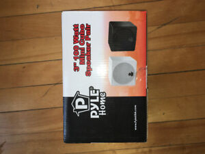 Pyle Home Mini Cube Speaker Pair (Brand New)