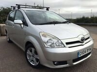 Toyota crolla verso automatic 7seater 1.8 petrol