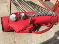 Golf clubs. Full set of irons, driver, 5 wood, putter & bag. Very good condition