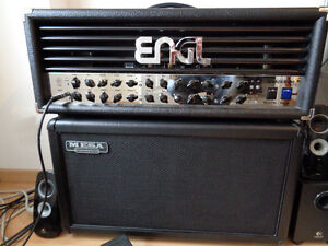 ENGL Invader 100 Watts Amp Head and ENGL Z9 Midi Pedal