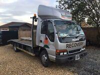 Isuzu nkr recovery truck 7500kg 1999 reg