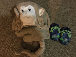 Baby towel & slippers