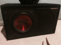 """10"""" MTX subwoofer with Thunder box"""