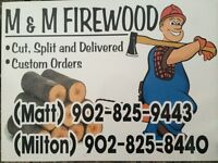 Taking orders for firewood
