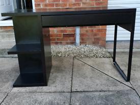 Desk with Storage & Drawer