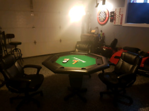 Poker table (top)