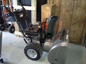 Craftmans Snowblower 10.5 HP 27""
