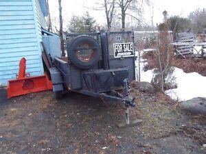 Home Made Dump Trailer
