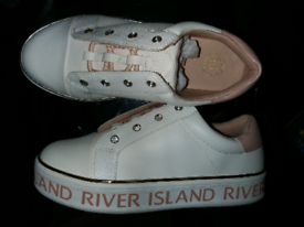 River island trainers size 2 junior (not infants)