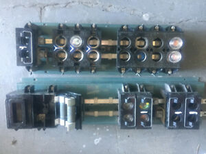 old style   2   fuse holder parts- only a few left