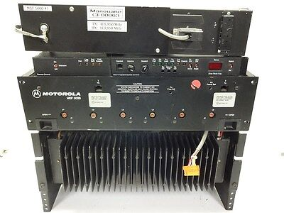 Motorola Repeater Msf 5000 Uhf With Power Amplifier