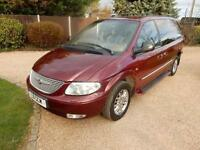 CHEAP CAR - 2001 51 CHRYSLER GRAND VOYAGER 3.3 LIMITED 5D AUTO 172 BHP