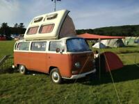 VW T2 early bay, 1970 (H), classic campervan beautifully restored, Oxford, OX2