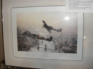 Limited Edition Robert Taylor print - Victory Salute