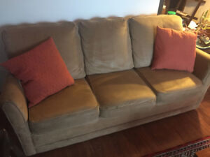 La-Z-Boy Microsuede 3-Seater Couch