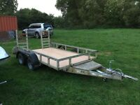 Ifor Williams plant trailer 3500 kg
