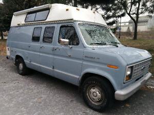 1990 Ford E150 Camper, Van aménagé, VR