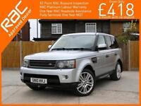 2010 Land Rover Range Rover Sport 3.0 TDV6 Turbo Diesel HSE 4x4 4WD 6 Speed Auto