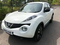 Nissan Juke n-tec 1.5 dCi Good / Bad Credit Car Finance (white) 2013