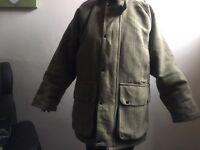 Men's blue riband coat