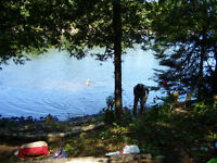 Waterfront property in Cottage country