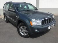 2006 Jeep Grand Cherokee 3.0CRD V6 auto Limited 4x4 **6 Service Stamps**