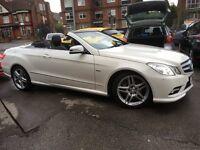 Mercedes E Class 2.1 E 220 CDI BLUEEFFICIENCY SPORT (white pearlscent metallic) 2011