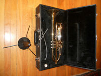 Trumpet JUPITER STR-600, case and accessories $180
