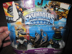 Skylanders Spyro's Adventure Pack - Pirate Seas - new, opened b