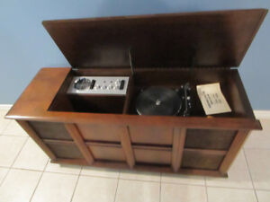 VINTAGE ELECTROHOME DAYTONA .308 STEREO CONSOLE PARTS OR REPAIR