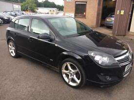 "0909 Vauxhall Astra SRI VVT X-PAC 1.8 Black 5 Door MOT 12m 18"" Alloy Wheels"