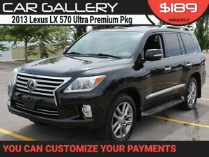 2013 Lexus LX 570 Ultra Premium Pkg, 3yr Warranty Fully Optioned