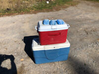 Picnic Coolers for sale 1/2 price