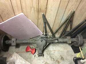 "7 1/2"" Ford  rear end posi"