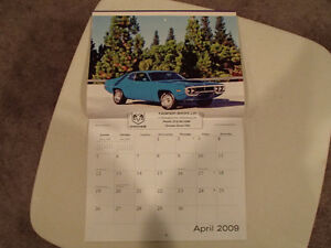 New 2009 DODGE MUSCLE CARS CALENDAR                       x2 Sarnia Sarnia Area image 5