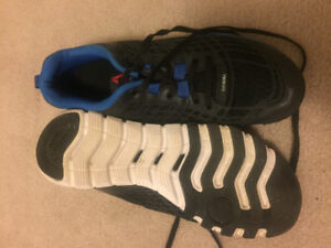 Reebok size 8 running shoes, vgc, worn indoors only