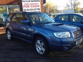 Subaru Forester 2.5 ( blk lth ) XTEn WITH 7 SERVICE STAMPS FINANCE AVAILABLE