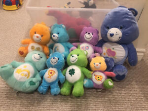 Care Bears stuffed animals